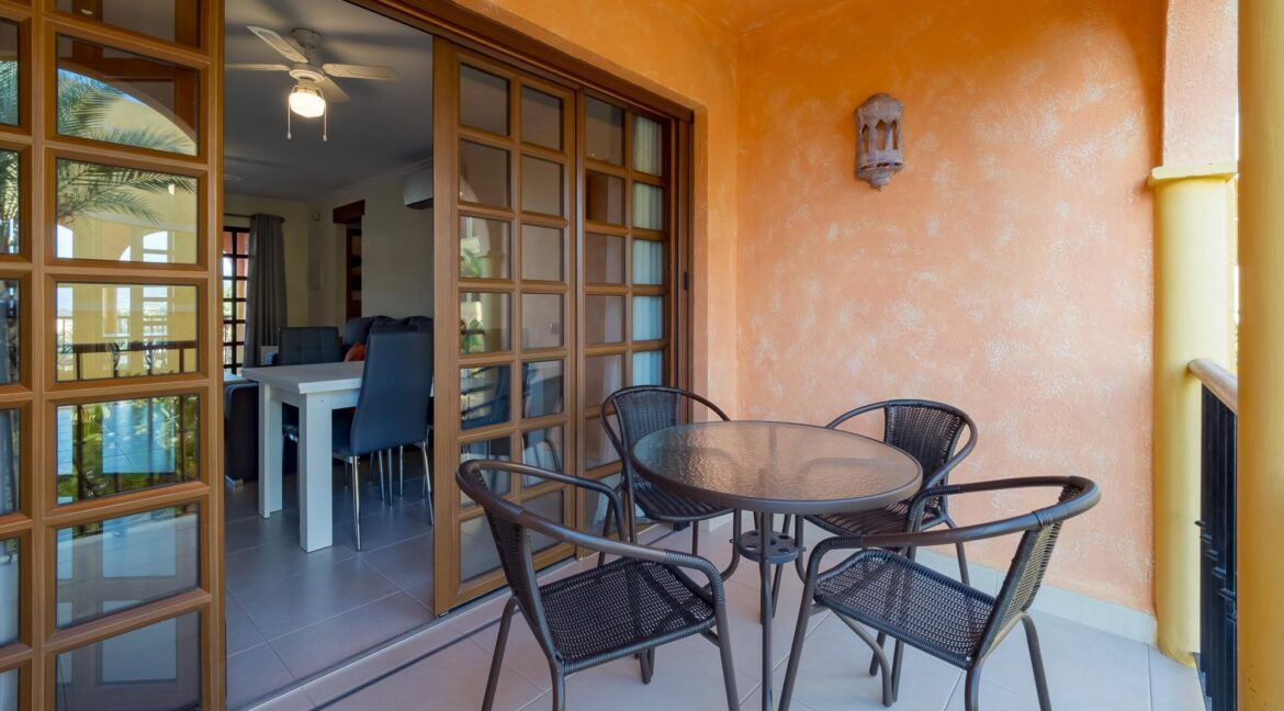 Terrace To Dining area